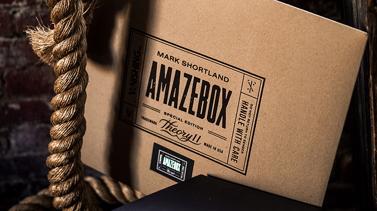 AmazeBox Kraft (Gimmick and Online Instructions) by Mark Shortland and Vanishing Inc./theory11 - Mystique Factory