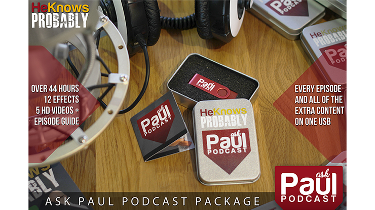 Ask Paul Podcast Package (USB Stick) by Paul Brook - Mystique Factory
