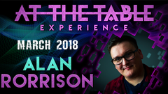 At The Table Live Lecture 2 Alan Rorrison March 7th 2018 (Download) - Mystique Factory
