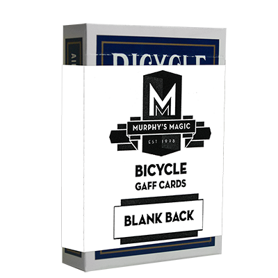 Blank Back Bicycle Cards (box color varies) - Mystique Factory