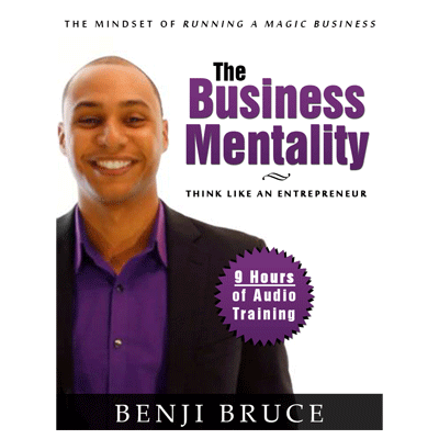 Business Mentality by Benji Bruce - Mystique Factory