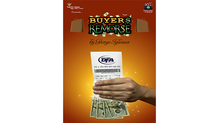 Buyer's Remorse (Gimmicks and Online Instructions) by Twister Magic - Mystique Factory
