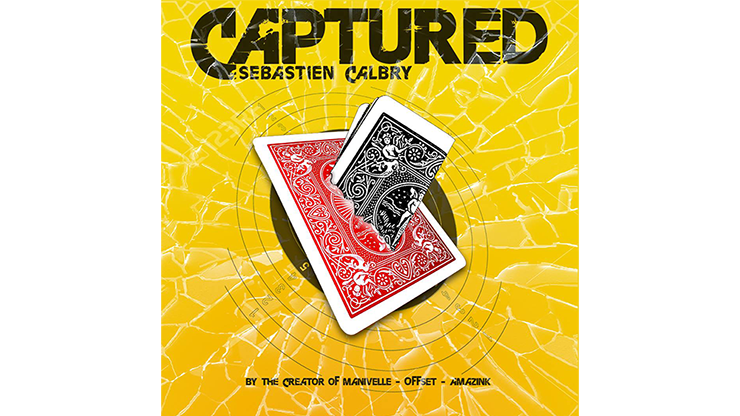 CAPTURED (Gimmick and Online Instructions) by Sebastien Calbry