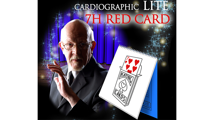 Cardiographic LITE RED CARD by Martin Lewis - Mystique Factory