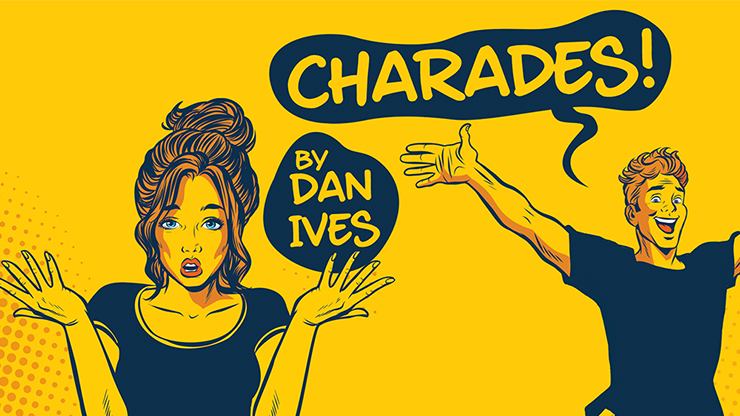 Charades (Gimmick and Online Instructions) by Dan Ives and Alakazam - Mystique Factory