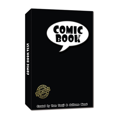 The comic book test (Hard cover) by So Magic - Mystique Factory