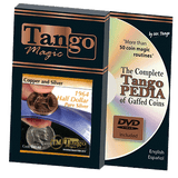 Copper and Silver Half Dollar 1964 (w/DVD) (D0140) by Tango - Mystique Factory