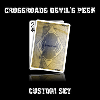 Crossroads Devil's Peek set in USPCC stock (with instructions) by Ben Harris - Mystique Factory