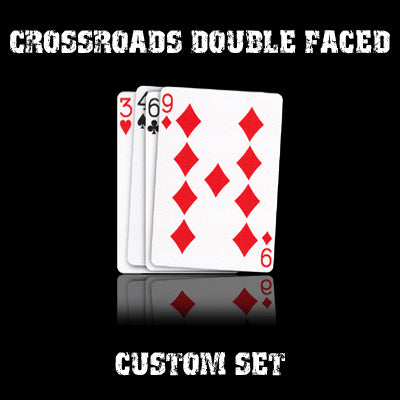 CrossRoads Double Faced set in USPCC stock (with instructions) by Ben Harris - Mystique Factory