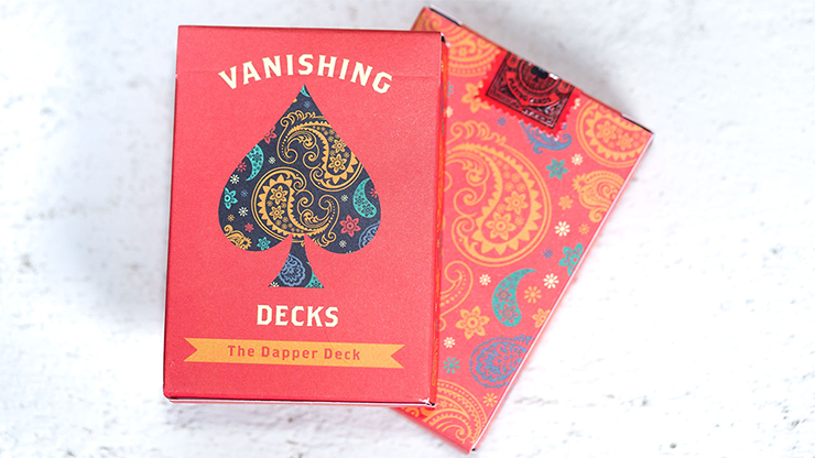 The Dapper Deck (Orange) Printed at USPCC by Vanishing Inc.