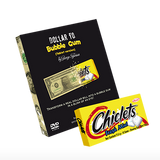 Dollar to Bubble Gum (Chiclets) by Twister Magic - Mystique Factory