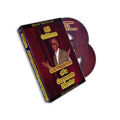 Confessions Of Corporate Warrior (2 DVD Set) by Bill Goldman - Mystique Factory