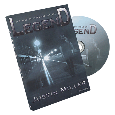 Legend (DVD and Gimmicks) by Justin Miller and Kozmomagic