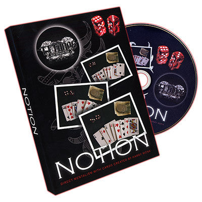 Notion (DVD and Gimmick) by Harry Monk and Titanas - Mystique Factory Magic