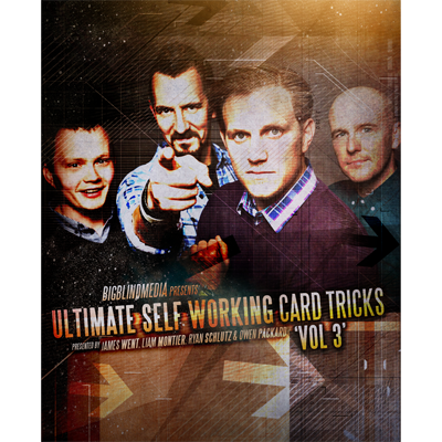 Ultimate Self Working Card Tricks Vol 3. by Big Blind Media (Download) - Mystique Factory