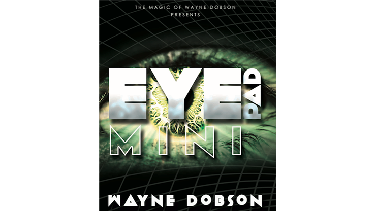 EyePad Mini (Gimmicks and Online Instructions) by Wayne Dobson - Mystique Factory
