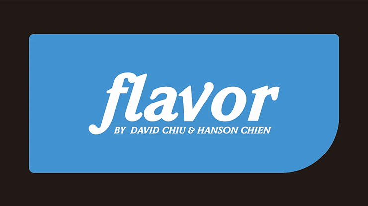 Flavor Eclipse Edition (Gimmicks and Online Instructions) by David Chiu and Hanson Chien
