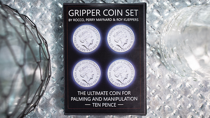 Gripper Coin (Set/10p) by Rocco Silano