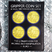 Gripper Coin (Set/Euro) by Rocco Silano