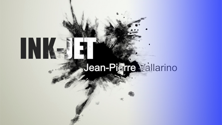 Ink-Jet (Gimmick and Online Instructions) by Jean-Pier Vallarino