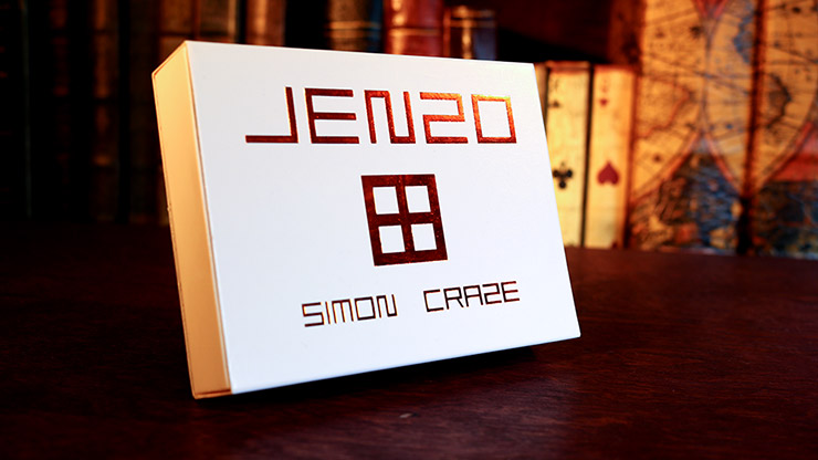 JENZO White (Gimmicks and Online Instructions) by Simon Craze