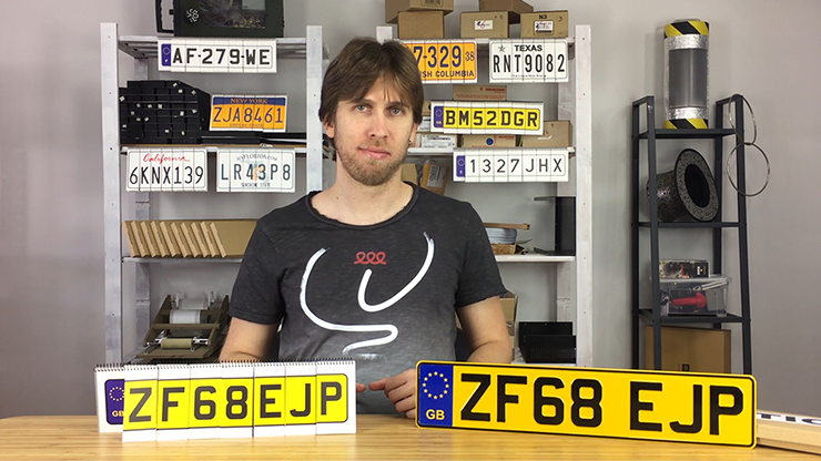 LICENSE PLATE PREDICTION - UNITED KINGDOM by Martin Andersen
