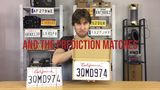 LICENSE PLATE PREDICTION - CALIFORNIA (Gimmicks and Online Instructions) by Martin Andersen