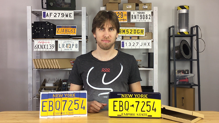 LICENSE PLATE PREDICTION - NEW YORK (Gimmicks and Online Instructions) by Martin Andersen