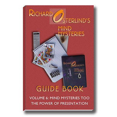 Mind Mysteries Guide Book Vol. 6 by Richard Osterlind - Mystique Factory