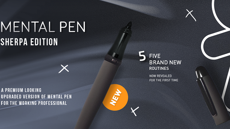Mental Pen Sherpa Limited Edition by João Miranda and Gustavo Sereno - Mystique Factory