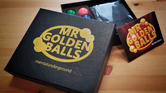 Mr Golden Balls 2.0 (Gimmicks and Online Instructions) by Ken Dyne