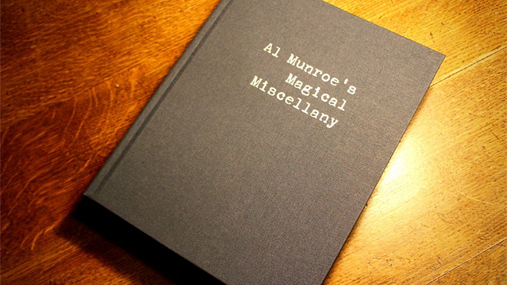 Limited Edition Al Munroe's Magical Miscellany (Hardbound) - Mystique Factory
