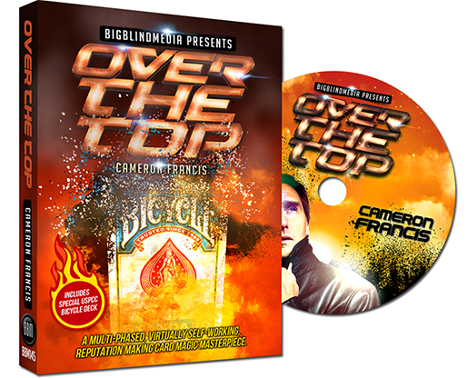 Over the Top (DVD and Gimmick) by Cameron Francis