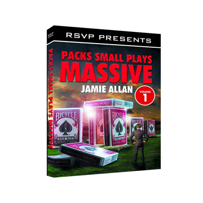 Packs Small Plays Massive Vol. 1 by Jamie Allen and RSVP Magic