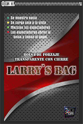 Larry's Bag (Gimmick and Online Instructions) by Mago Larry