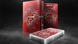 Spirit II MetalLux Red (Gilded Edition) Playing Cards