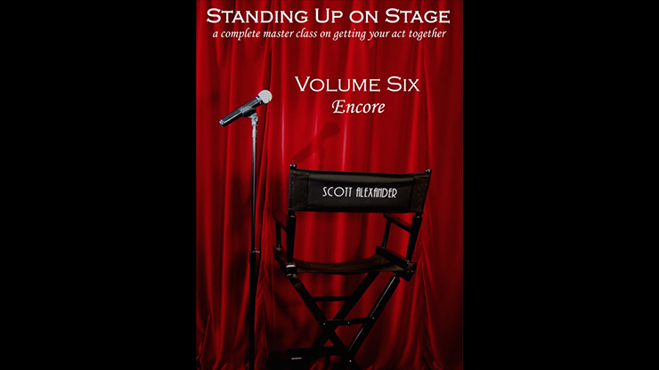 Standing Up On Stage Volume 6 Encore by Scott Alexander - Mystique Factory
