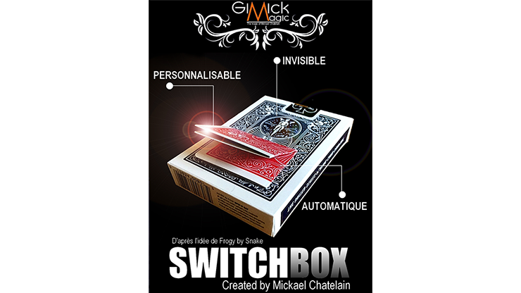 SWITCHBOX by Mickael Chatelain - Mystique Factory