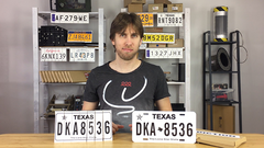 LICENSE PLATE PREDICTION - TEXAS (Gimmicks and Online Instructions) by Martin Andersen