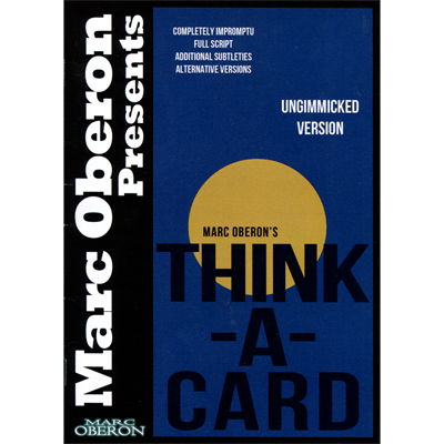 Think-a-Card (ungimmicked version) by Marc Oberon - ebook