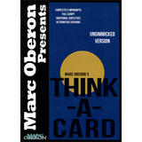 Think-a-Card (ungimmicked version) by Marc Oberon - ebook - Mystique Factory
