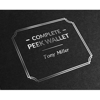 Complete Peek Wallet by Tony Miller and Vanishing Inc.