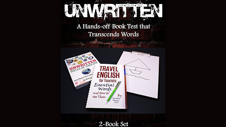 Unwritten: A Hands-off Book Test that Transcends Words (2-Book Set) by J C SUM - Mystique Factory