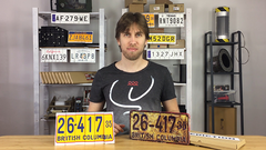 LICENSE PLATE PREDICTION - VINTAGE (Gimmicks and Online Instructions) by Martin Andersen