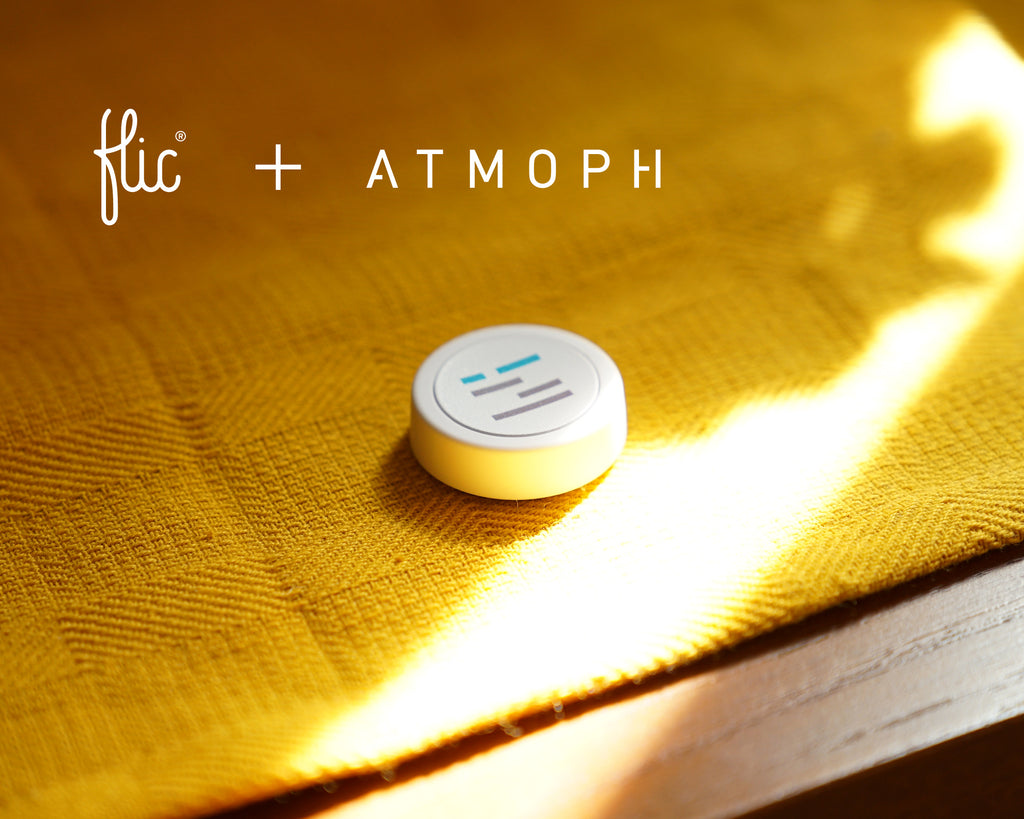 Atmoph Original Flic Button Campaign