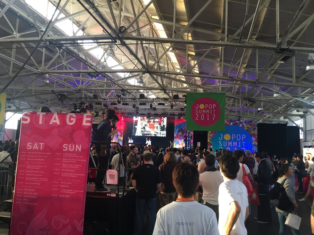 We're on J-POP SUMMIT at San Francisco, 2017