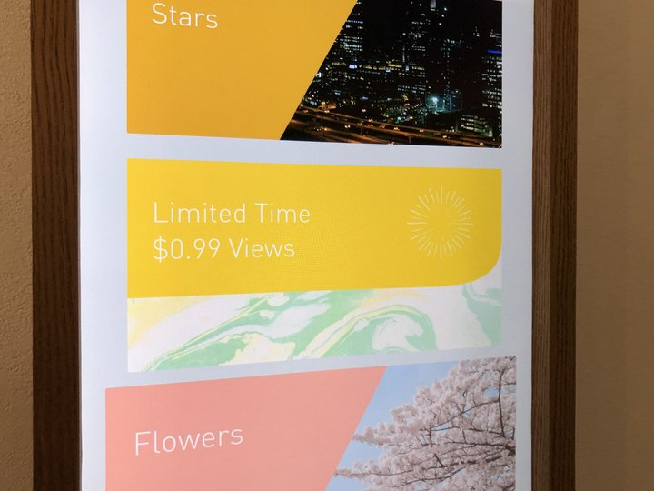 For a Limited Time Only! Views available at the View Store for only 99 cents.