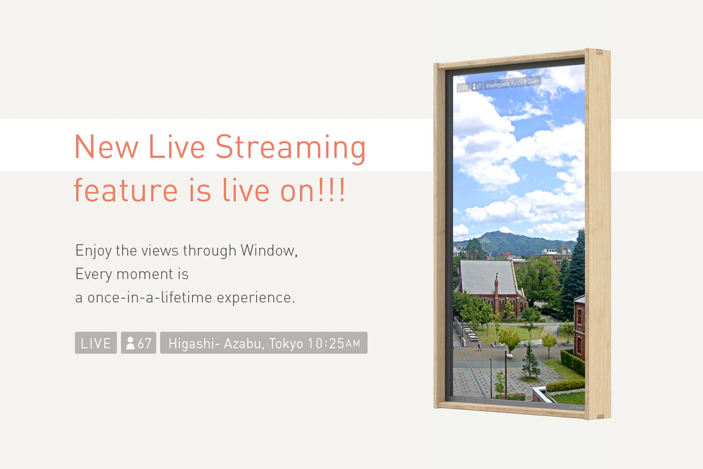 Finally, Live Streaming feature is live on!!!