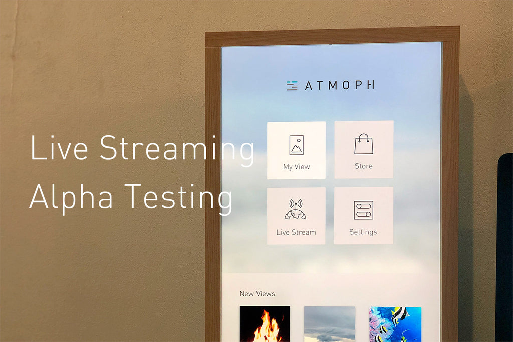 Finally, alpha testing of the Upload and Live Streaming features started!