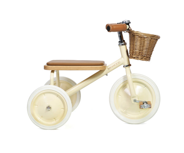 Banwood Trike - Various Colours Tricycle Banwood Cream (dispatch mid May)
